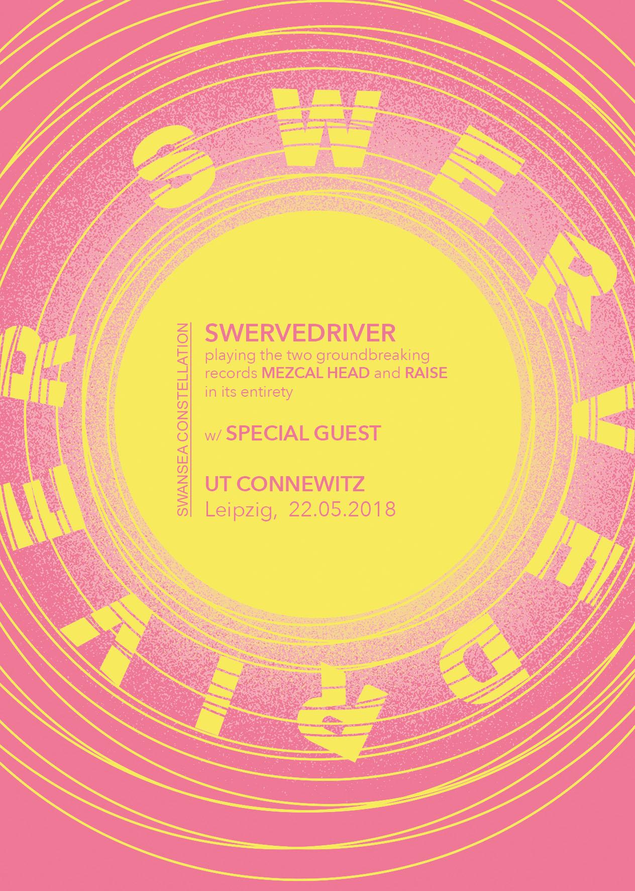 Swerverdriver + Dead Leaf Echo |22.05.2018