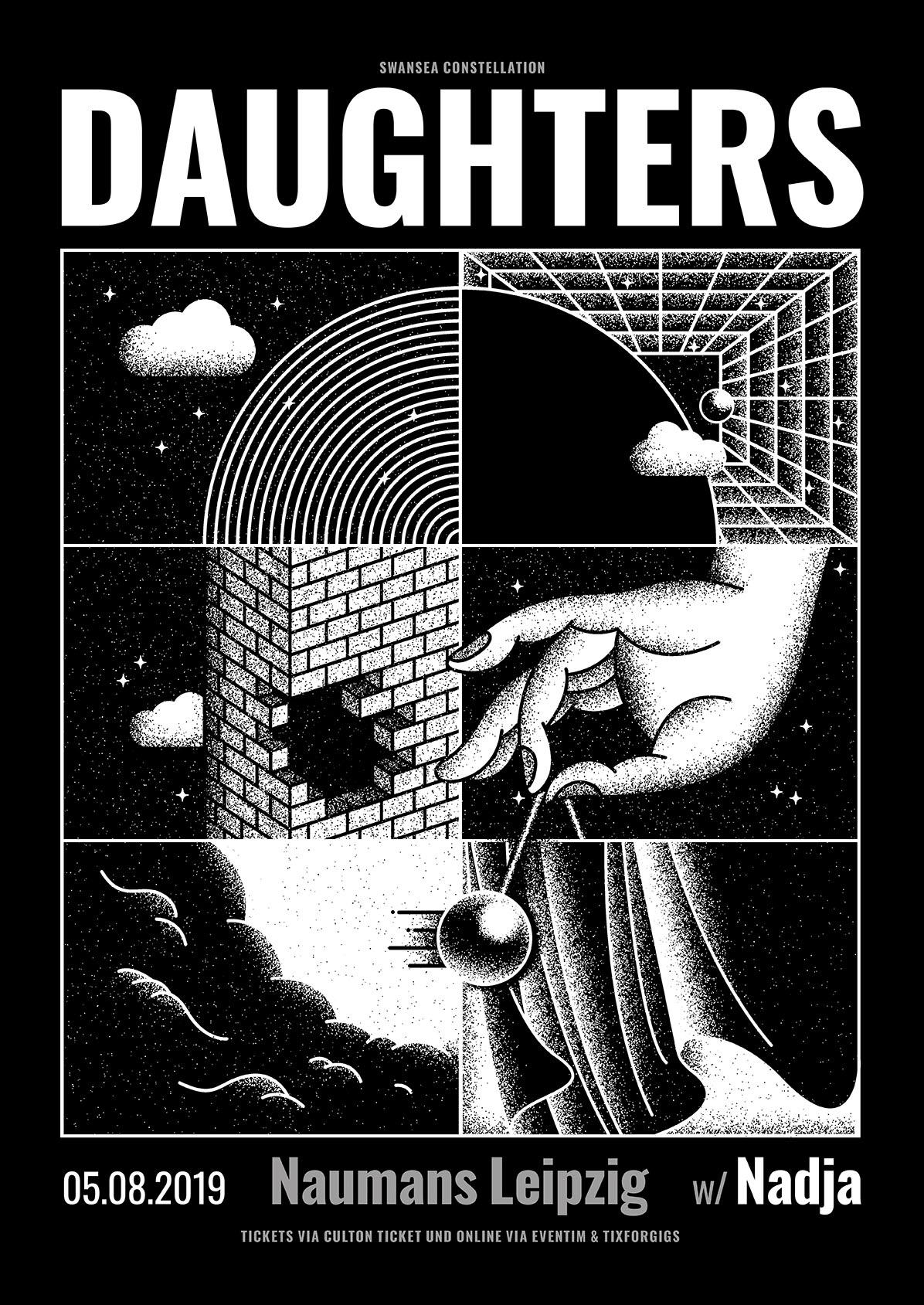 Daughters + Nadja | 08-05-2019