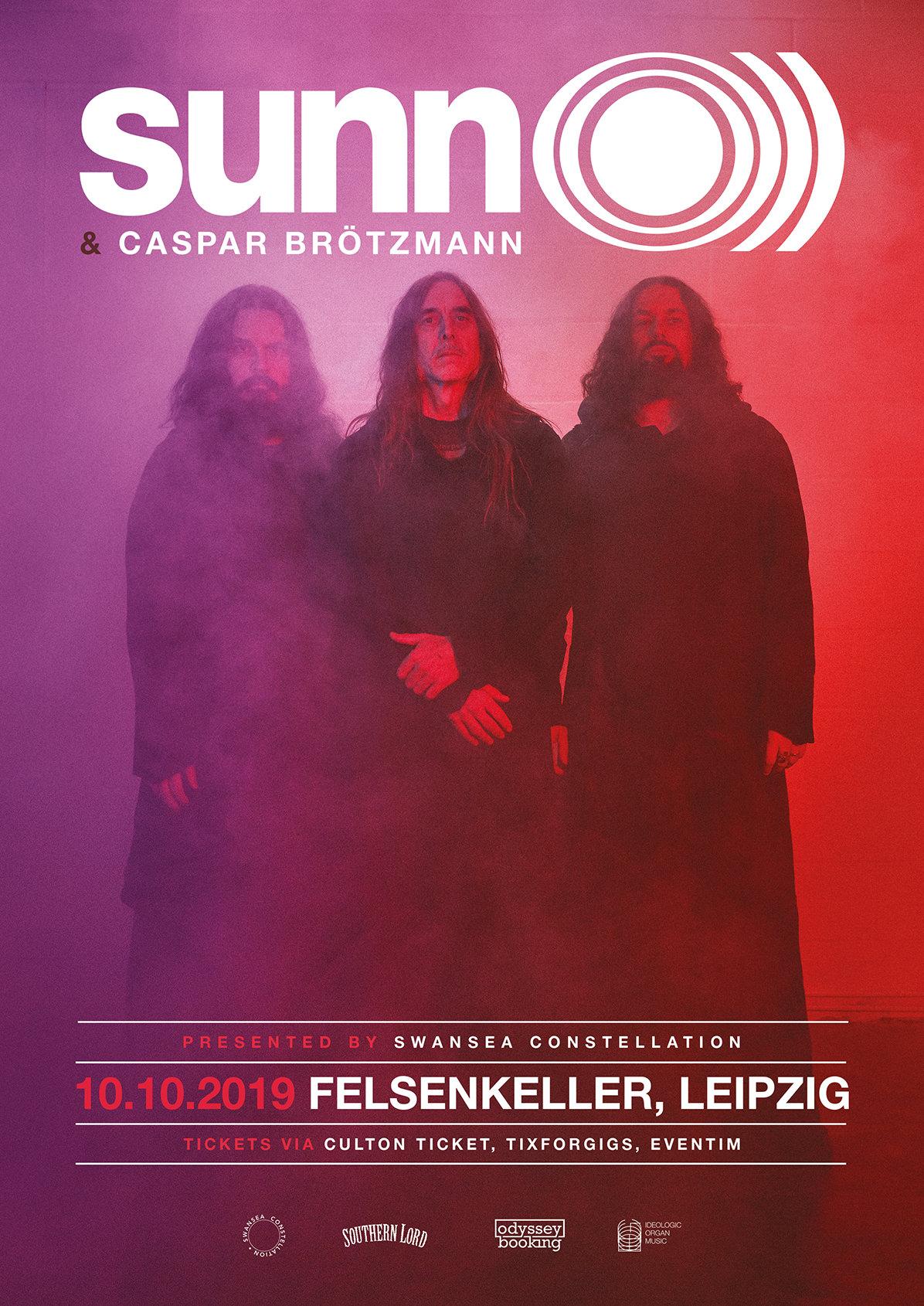 Sunn O + Caspar Brötzmann | 10-10-2019